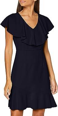 Vero Moda Vmline S/L Abk Dress TLR Ce Robe de Cocktail Femme
