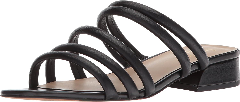 Franco Sarto Womens Fitz Heeled Sandal