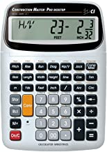 $59 » Calculated Industries 44080 Construction Master Pro-Desktop Advanced Construction Math Feet-Inch-Fraction Calculator with ...