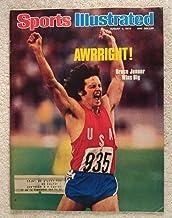 Bruce Jenner (Caitlyn Jenner) - Decathlon Gold Medal Winner - XXI Summer Olympics - Sports Illustrated - August 9, 1976 - ...
