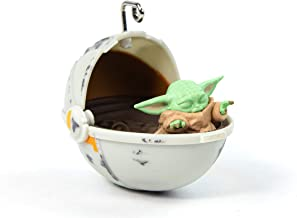 Official Star Wars The Mandalorian 'Baby Yoda / The Child' 3D Christmas Decoration / Ornament, NS2440