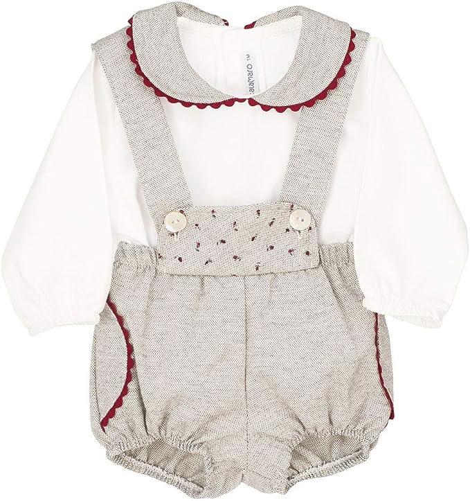 CALAMARO - Conjunto bebé Peto y Camisa. bebé-niños ...