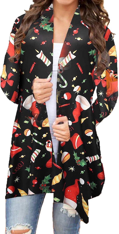 Sweaters for Women Open Front,Wamajoly Women's Winter Long Sleeve Warm Chunky Knit Sweater Cardigan Outwear