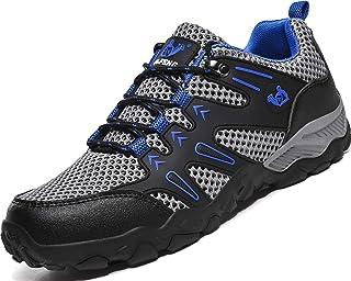 Lvptsh Zapatillas de Trekking para Mujer Transpirable Zapatillas de Senderismo Calzado de Trekking AL Aire Libre Antidesli...