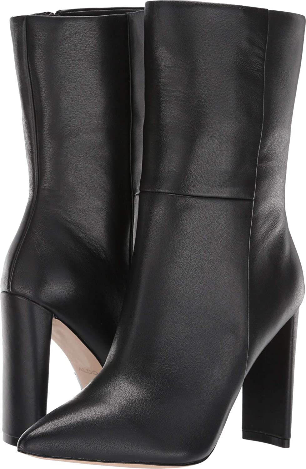 Aldo Womens Pointed Toe Ankle Fashion Boots, Black, Size 7.0