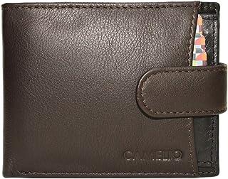 Camelio Brown Men's Wallet (CAM-BL-057)