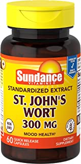 Sundance St John's Wort Extract 300 mg Tablets, 60 Count