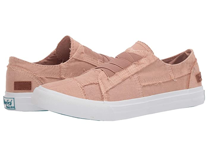 Blowfish  Marley (Toasted Peach Color Washed Canvas) Womens Flat Shoes