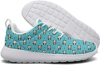 Eoyles Pandas Durable Men Fashion Designer Tennis Sneakers Slip Resistant Lightweight Running Sneakers Shoes
