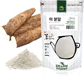 Sponsored Ad - [Medicinal Korean Herbal Powder] 100% Natural Wild Yam Powder (Dioscorea polystachya/Shanyao/마 분말) (8 oz)