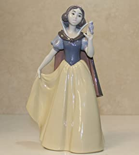 Lladro Limited Edition Figurine 7555, Snow White (girl with bird)
