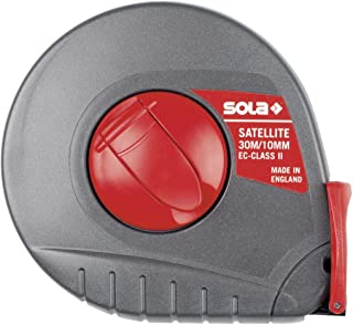 "Sola 50055901""Satellite ST 20"" Tape Meet, Zwart/Rood, 20 m"
