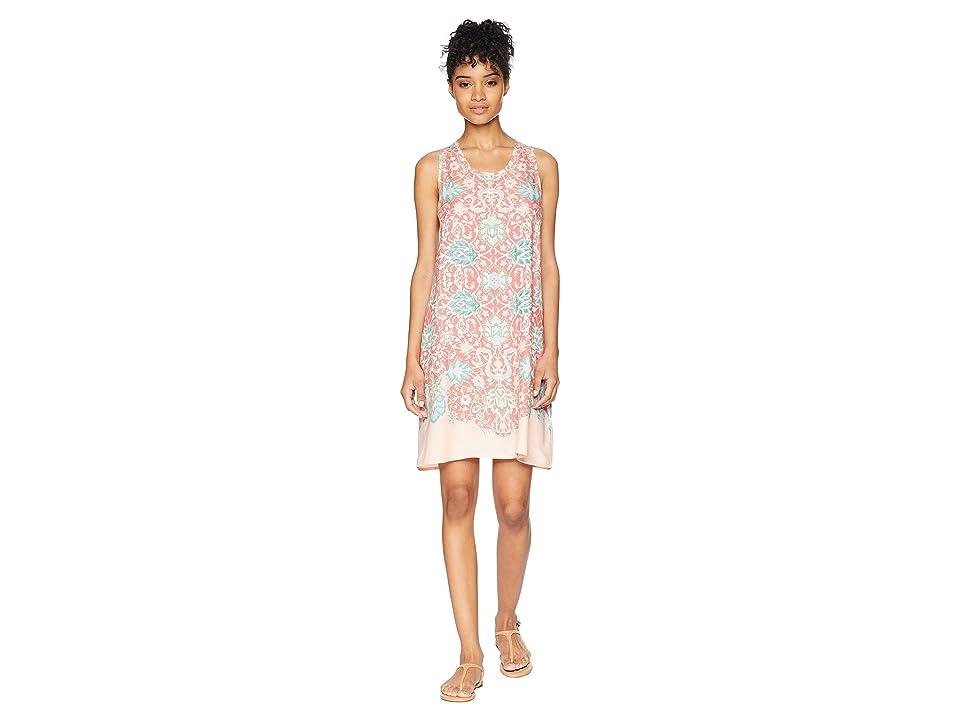 Aventura Clothing Stacia Dress (Deep Sea Coral) Women