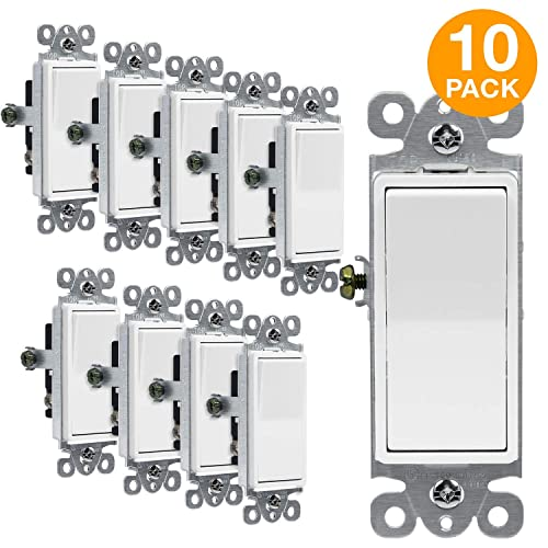 Grounded 3-Way Light Switches: Amazon.com on 3 way relay switch, 3 way switch terminals, 3 way install, 3 way light, 3 way switch schematic, 3 way sensor switch, 3 way switch outlet, 3 way parts, 3 way pull chain, 3 way switch connections, 3 way switch receptacle, 3 way fuse, 3 way switch operation, 3 way switch screws, 3 way switch wire, 3 way switch circuits, 3 way switch installation, 3 way switch trim, 3 way switch configuration, 3 way switch fans,