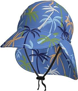 Lsjuee - Cappello da sole per bambini, traspirante, con palma di cocco