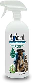 No Scent Crate Kennel & Floor - Professional Dog & Pet Urine Feces Odor Eliminator & Cleaner - Safe All Natural Probiotic & Enzyme Formula Smell Remover Hardwood Concrete Tile Plastic
