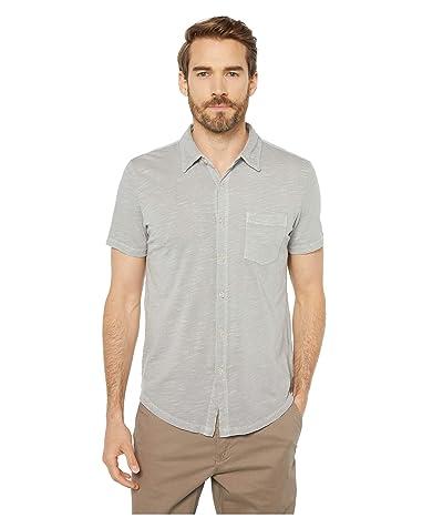 Mod-o-doc Montana Short Sleeve Button Front Shirt (Drizzle) Men