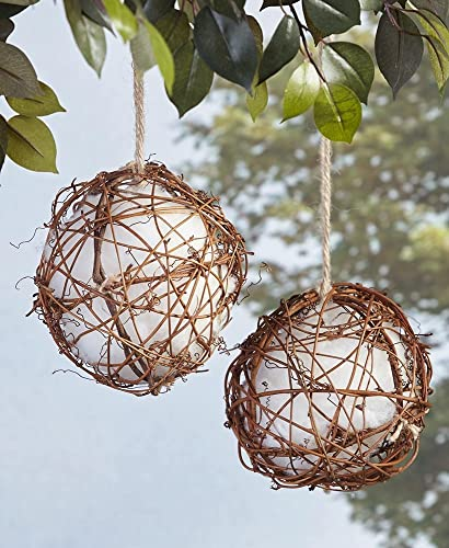 high quality The lowest Lakeside Collection 2021 Set of 2 Globe Hummingbird Nesters online sale