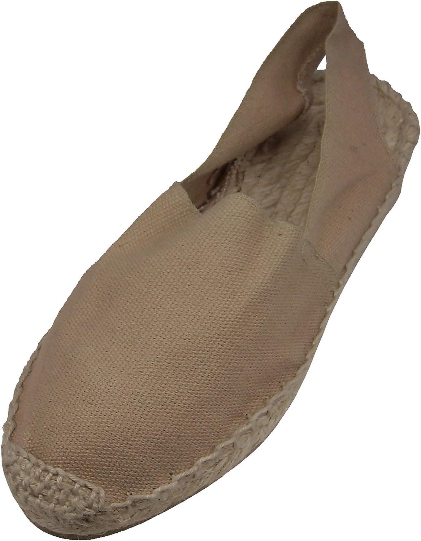 Alpargatus Low Heel Sandals Sand Coloured
