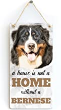 Meijiafei A House is Not A Home Without A Bernese - Dog Sign/Plaque for Bernese Mountain Dog Lovers 10