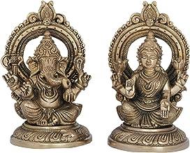 Lakshmi Ganesha - Brass Statue