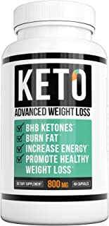 NatureAlly You Keto Diet - Keto Advanced Weight Loss - Burn Fat Instead of Carbs - Ketosis Supplement - 30 Day Supply (60 Capsules)