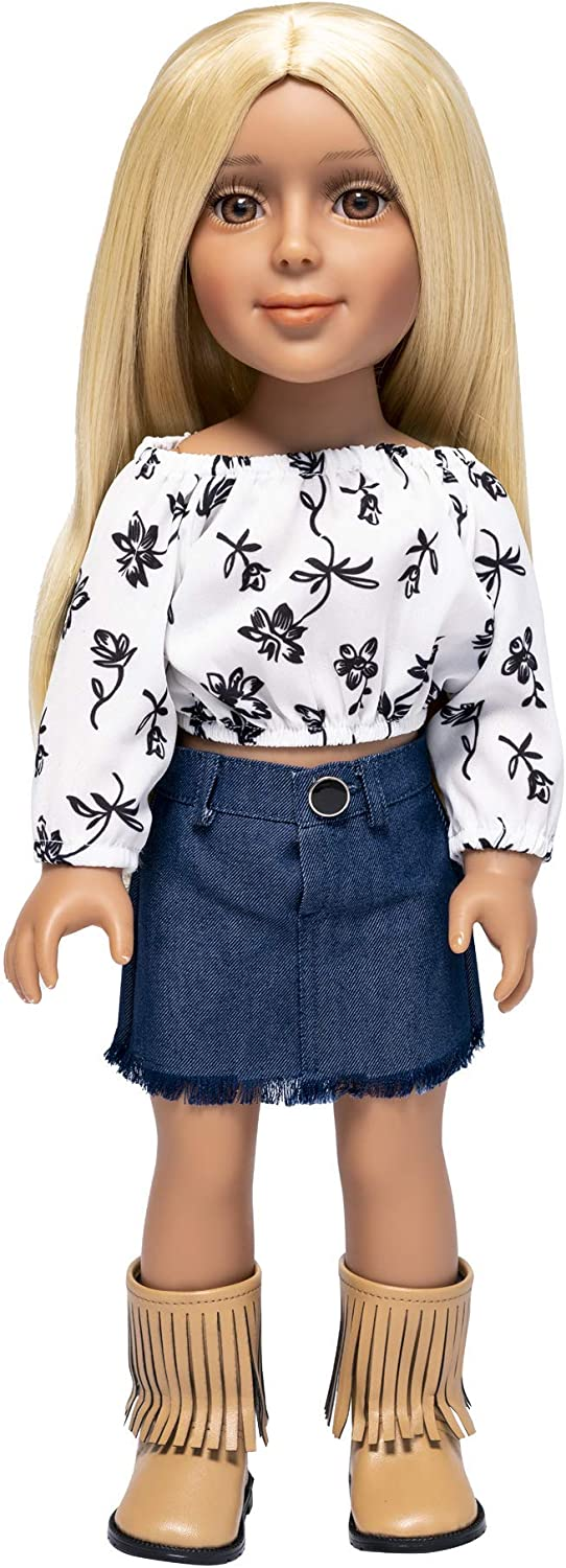 I'm Max 53% OFF A Girly Fashion Doll Zoe Blonde Interchangeable NEW before selling ☆ Re w Golden