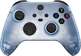 eXtremeRate Glacier Blue Replacement Part Faceplate, Housing Shell Case for Xbox Series S & Xbox Series X Controller Acces...