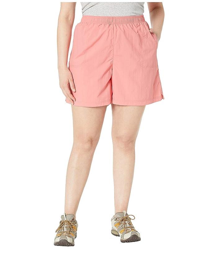 Columbia Plus Size Sandy Rivertm Short (Coral Bloom) Women