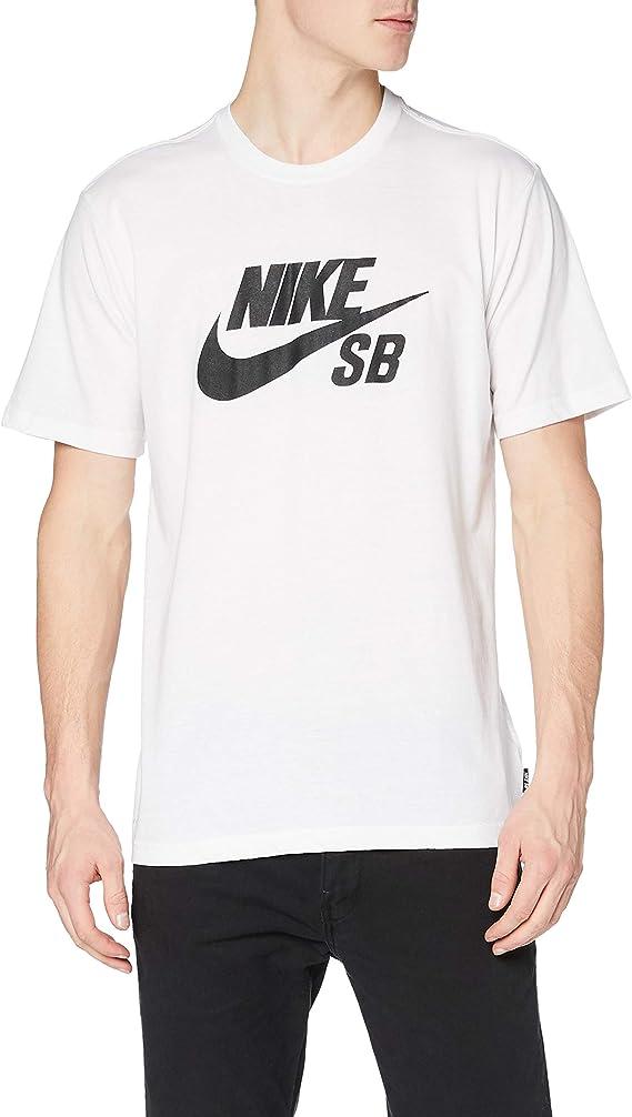 NIKE SB Logo tee Camiseta de Manga Corta, Hombre