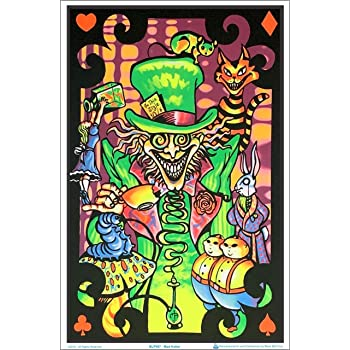 "Have A Nice Trip Laminated Blacklight Poster 23.5/"" x 35.5/"""