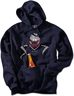 New England Angry Silhouette Tailgater Hoodie