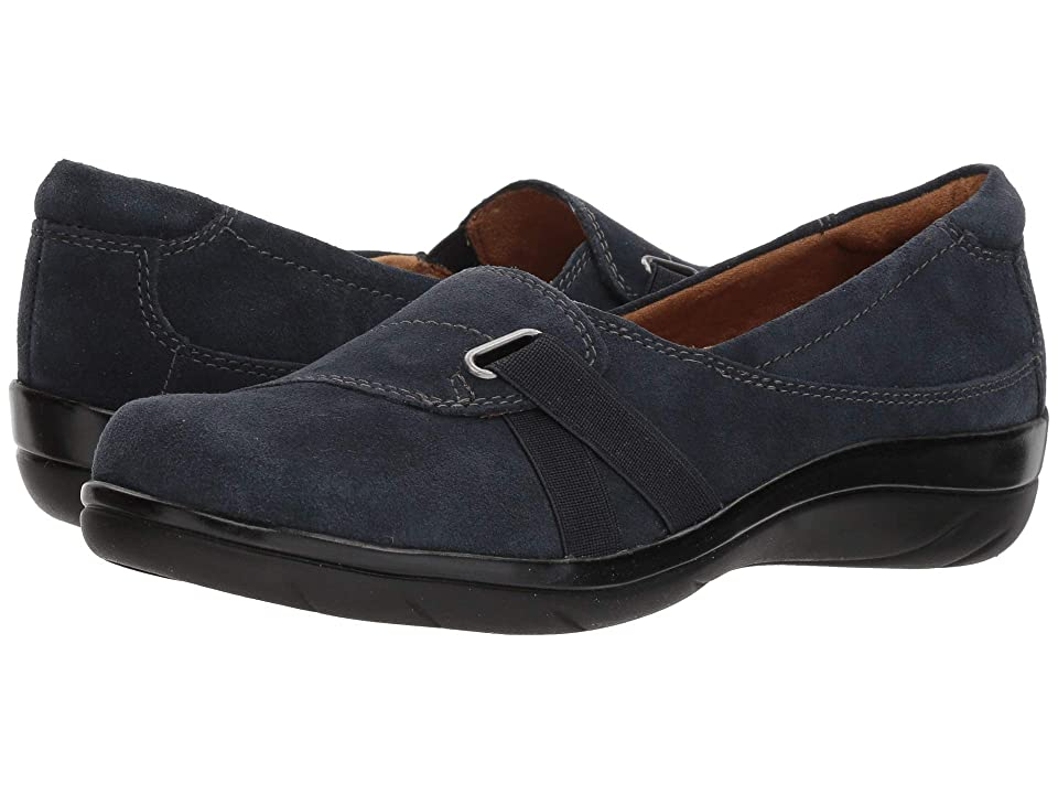 Natural Soul Ilena (Navy Cow Suede Leather) Women