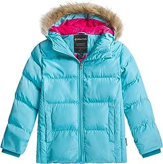 Girl's Winter Coat Warm Winter Puffer Jacket Windproof with Hood