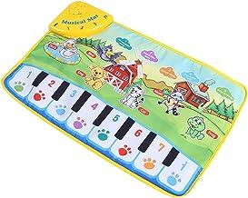 Matta, plast och tygmaterial, barnmusikmatta för pianomatta för barn