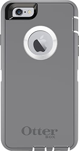 new arrival OtterBox iPhone 6 ONLY Case discount - Defender Series Retail Packaging - Glacier (White/Gunmetal 2021 Grey) (4.7 inch) outlet online sale