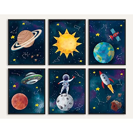 I Need My Space Outer Space Decor Astronaut Print Space Printable Art Space Poster Nursery Decor Outer Space Kids Room Decor Digital Prints