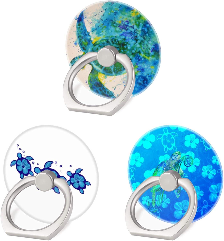 3 Pack Finally popular brand High order Sea Turtle Cell Phone 360 Degree Ring Holder Finger