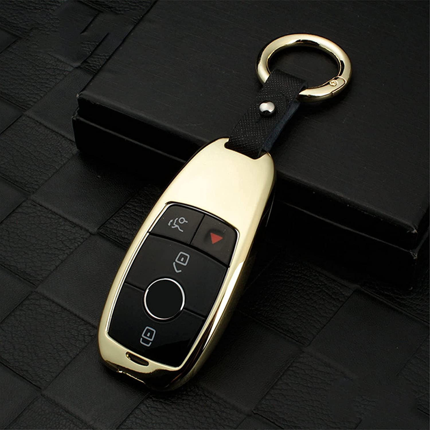 Zinc Alloy Car Key Cash special price Deluxe Cover Case for W2 W213 E Mercedes Benz Class