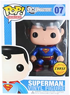 Pop! Heroes Funko DC Universe - Superman Metallic Chase Vinyl Figure