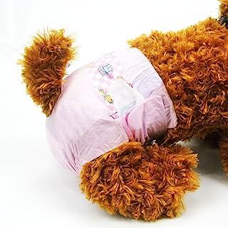 Pañales desechables para mascotas DONO para perros y gatos. Súper absorbente y suave. Talla XS 18 piezas