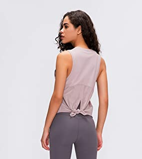 Running Workout Clothes Halter Yoga Vest Stretch Sexy Top Gym Vest Mesh Patchwork Sports Vest