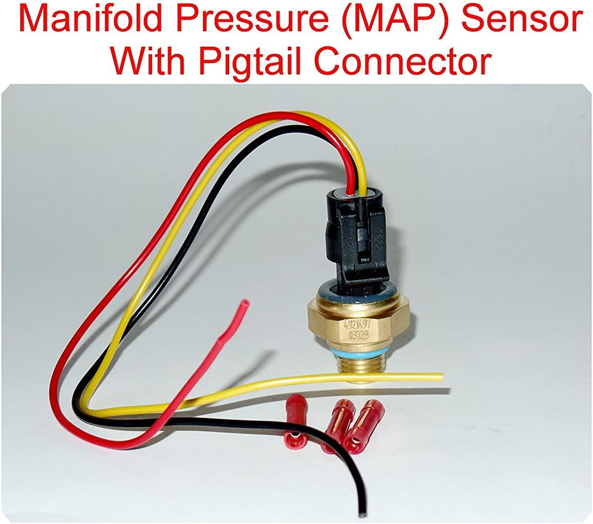 4921497 Max 81% OFF Weekly update Turbocharger Boost Sensor Conn Pigtail Map with