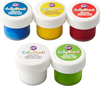 Edible Cake Paint, Primary Color Set of 5 by Wilton