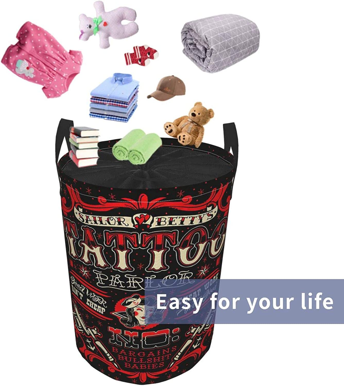 Janrely Large Round Storage Basket with Handles,Vintage Retro Jiu Jitsu,Waterproof Coating Organizer Bin Laundry Hamper for Nursery Clothes Toys 19x 14