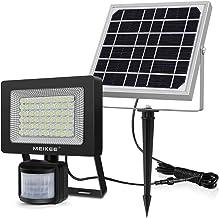 CLY Lampe Solaire Extérieur Avec Détecteur de Mouvement Patio 60 LED Spot Solaire Exterieur Détecteur Jardin Eclairage Solaires Extérieur 400 Lumen Étanche IP 66 Pour Gazon Projecteur Solaire Exterieur Avec Détecteur