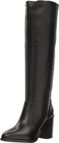 Steve Madden damen& 039;s Remi Over The Knee Stiefel, schwarz Leather, 8.5 M US