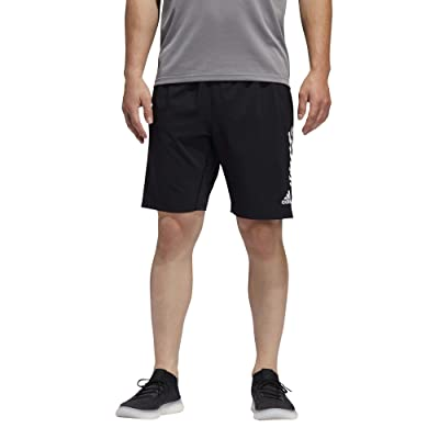 adidas 9 4Kraft Stripe+ Woven Shorts (Black) Men