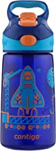 Contigo 71083 AUTOSPOUT Straw Striker Kids Water Bottle, 14oz, Sapphire