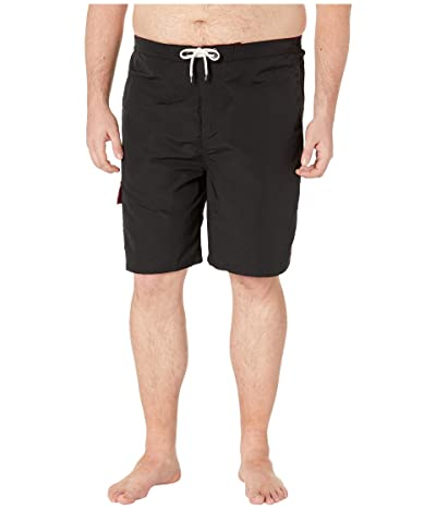 Polo Ralph Lauren Big & Tall Big and Tall Nylon Kailua Swim Trunks (Polo Black) Men